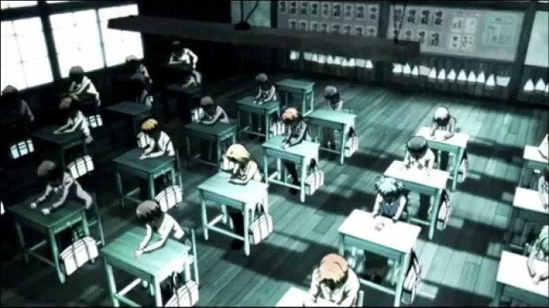 Que pensa collectivement la classe E quand Koro-Sensei est arrivé dans le premier épisode ?