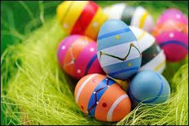 Qu'adores-tu à Pâques ?