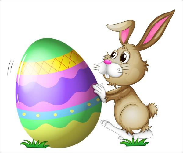 Et dernière question, as-tu hâte que Pâques arrive ?