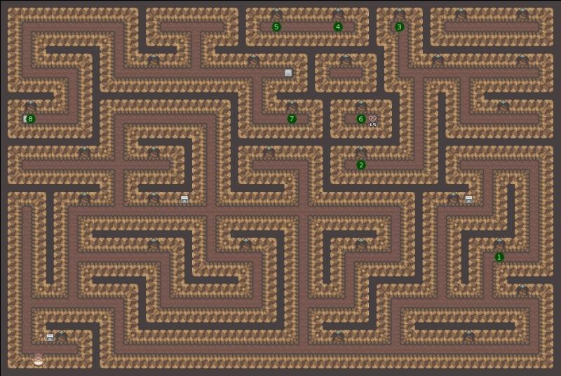 Que trouve-t-on dans le coffre de fin des labyrinthes d'Edale ?