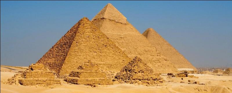 Quel est le seul objet que contient la pyramide de Khéops à Gizeh ?