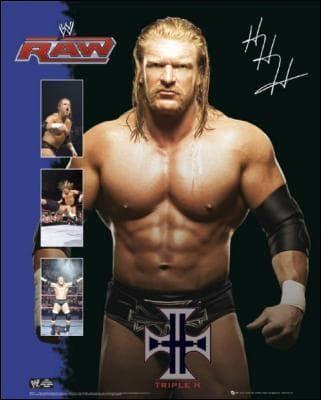 Après quel événement Triple H est revenu à Raw ?