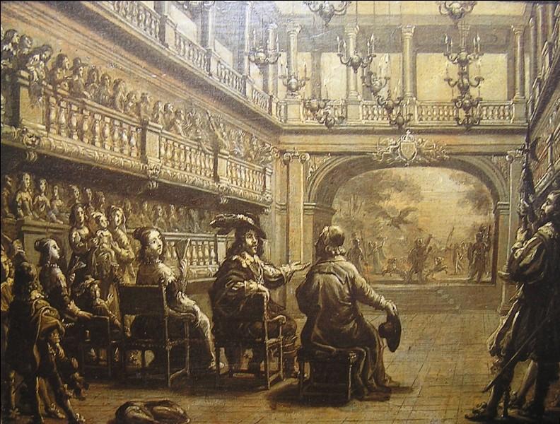 Comment s'appelait la première troupe de théâtre dont Molière a fait partie ?
