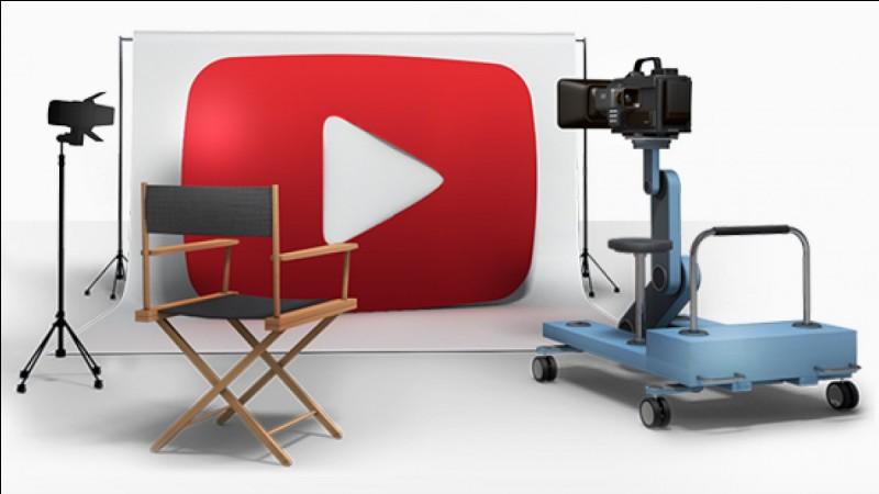 Quel youtubeur est dans un studio ?