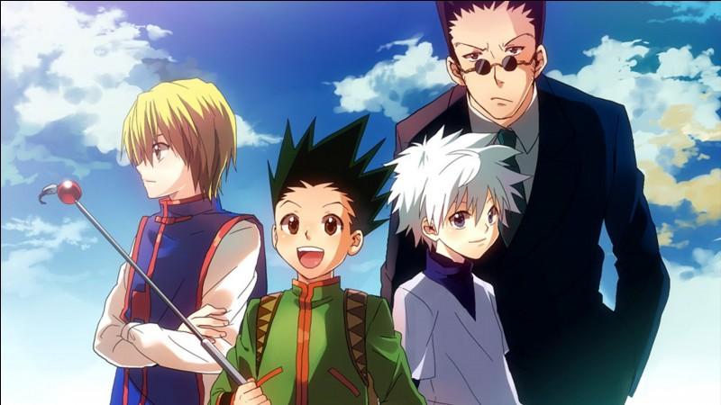 """Passons à """"Hunter x Hunter"""". Quand était la première apparition de Kirua Zoldik ? (Animé version 1999)"""