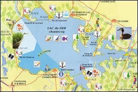 Le Lac du Der-Chantecoq est à cheval sur deux départements. Lesquels ?