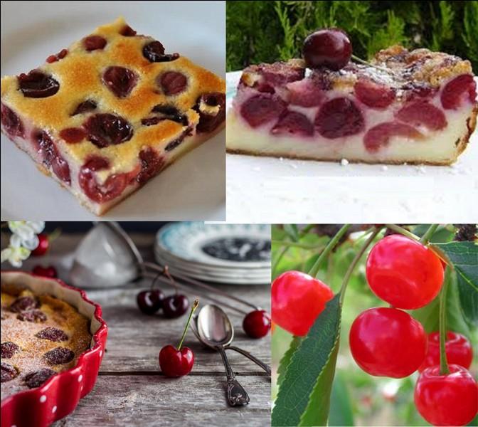 Gastronomie : C'est un dessert originaire du Limousin. Dans cette région, il s'appelle « milliard » ou « millard ». Utilisez celles de Montmorency pour le préparer, elles sont réputées pour ce dessert. Pour l'accompagner, On peut servir ce dessert avec un vin rosé doux.Quel est ce dessert ?