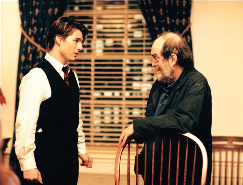 Encore un réalisateur, et pas des moindres, présent sur la photo avec son acteur principal, Tom Cruise. Pour quel film ?
