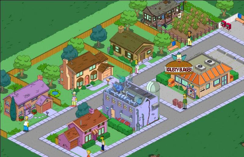 Dans quelle ville habite les Simpson ?