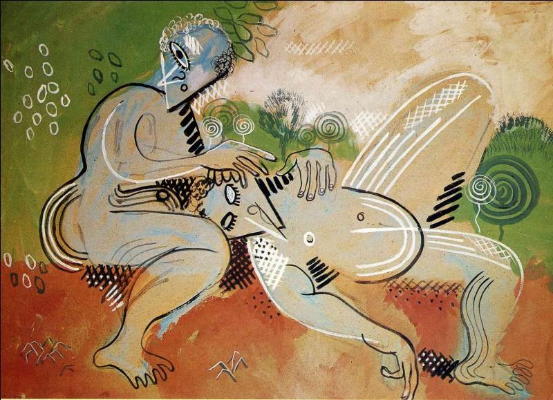 """Est-ce Picasso qui a peint """"Idylle"""" ?"""