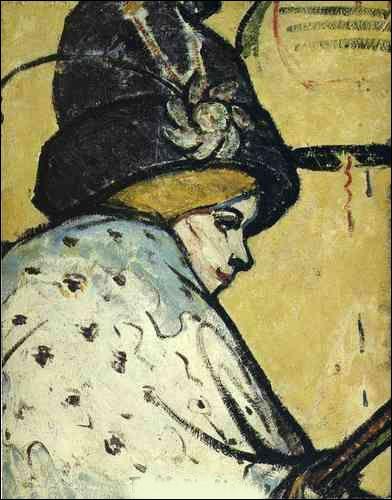 Est-ce Picasso qui a représenté ce portrait ?