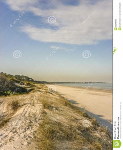 Je suis l'Uruguay, si vous venez me visiter, vous pourrez vous baigner dans l'Océan Pacifique !