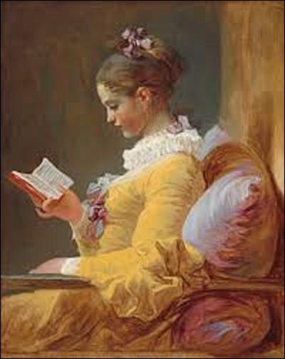 """Et nous terminons ce quiz par cette huile sur toile intitulée """"La Liseuse"""" ou """"La Jeune fille lisant"""" peinte vers 1770. La technique utilisée est remarquable par la variété des touches, qui en font un bon exemple du jeu de pinceau rapide et vigoureux développé par son auteur, parfois qualifié """"d'escrime"""" par ses contemporains. Lequel de ces peintres de mouvement rococo a créé ce tableau ?"""
