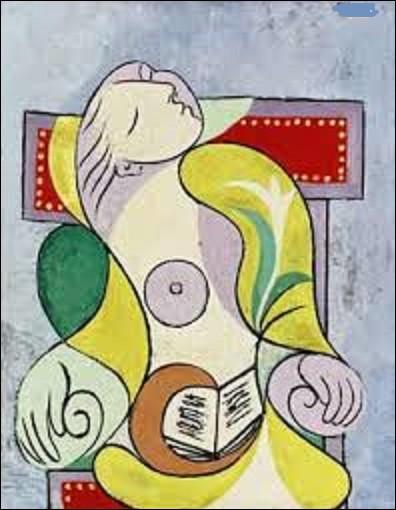 """Peinture à l'huile sur toile, datant de 1932, """"La Lecture"""" est l'oeuvre d'un artiste des mouvements cubisme et surréalisme. Lequel a peint ce tableau ?"""