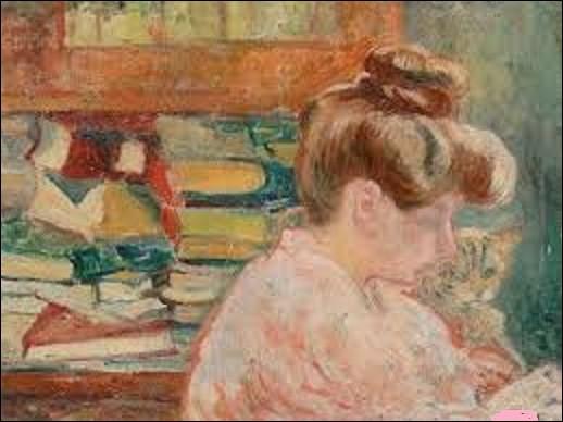 """Quel peintre fauviste a peint ce tableau intitulé """"Femme au chat et aux livres"""", en 1905 ?"""