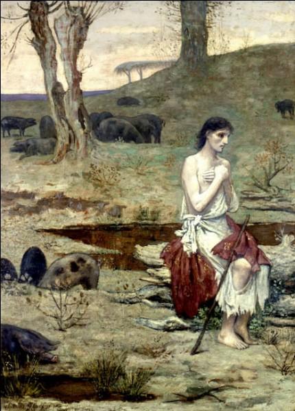 """""""Le fils prodigue"""" (1879)Symboliste, marqué par Chassériau, ce peintre apporte un élément novateur au genre allégorique, dont il devient le plus illustre représentant vers la fin du XIXe siècle. Il influence toute une génération de peintres comme les idéalistes et les nabis. Quel est son nom ?"""