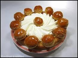 Ce gâteau est un saint-honoré.