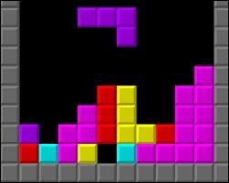 """""""Tetris"""" est un jeu vidéo de puzzle apparu durant les années 60."""