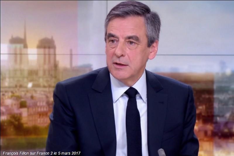 Complétez le nom de ce candidat François ...