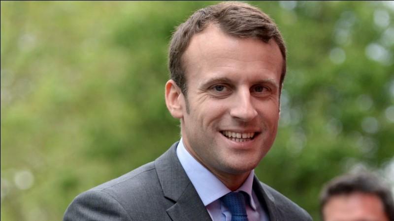 Complétez le nom de ce candidat Emmanuel ...