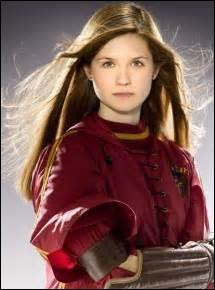Quel est le nom complet de Ginny ?