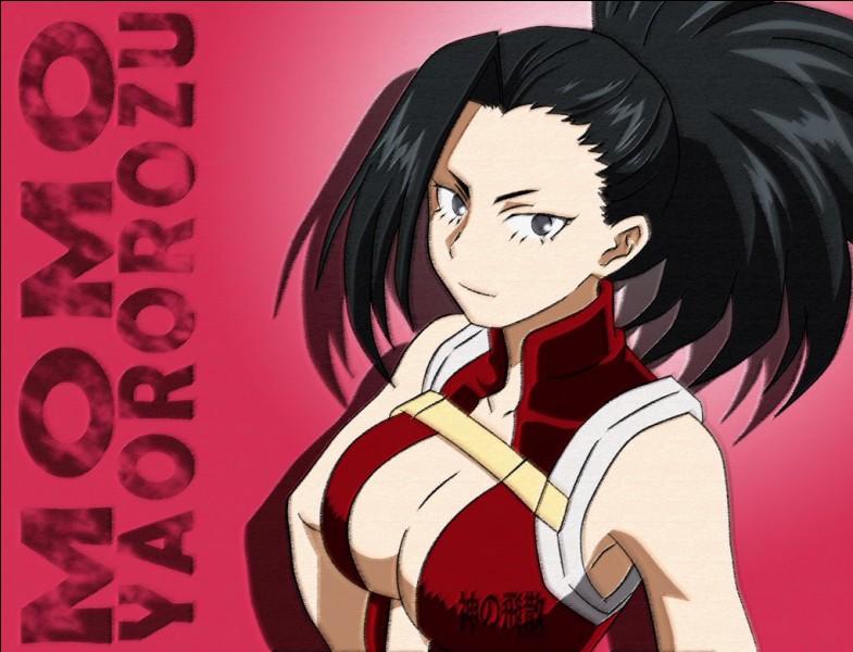 Quel est le pouvoir de Momo Yaoyorozu ?