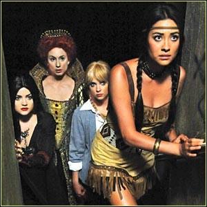 En quoi Hanna est-elle déguisée ?
