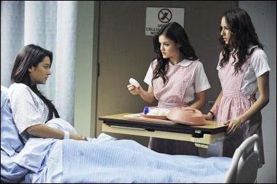 Pourquoi Emily se retrouve-t-elle à l'hôpital ?