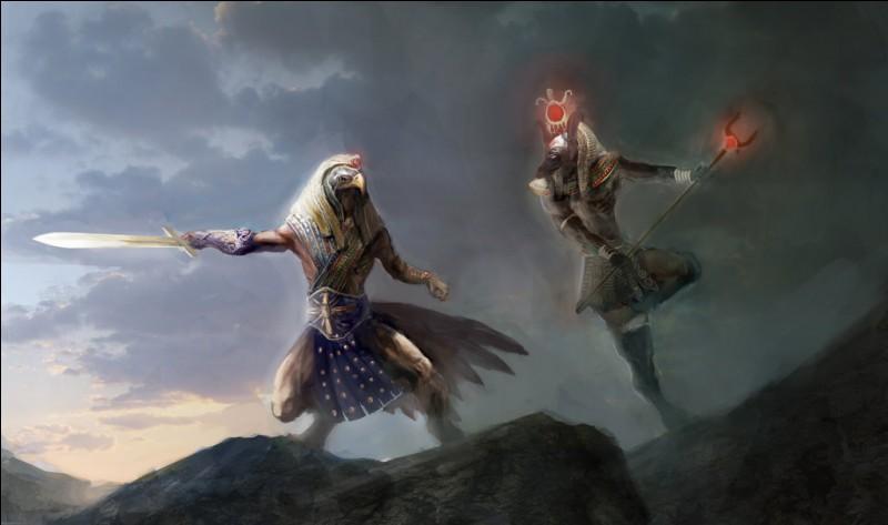 Combat d'une violence sans égale dans la mythologie égyptienne, opposant le dieu Horus qui perdit son œil gauche et Seth une jambe et testicules arrachés. Combien de temps dura cet affrontement ?