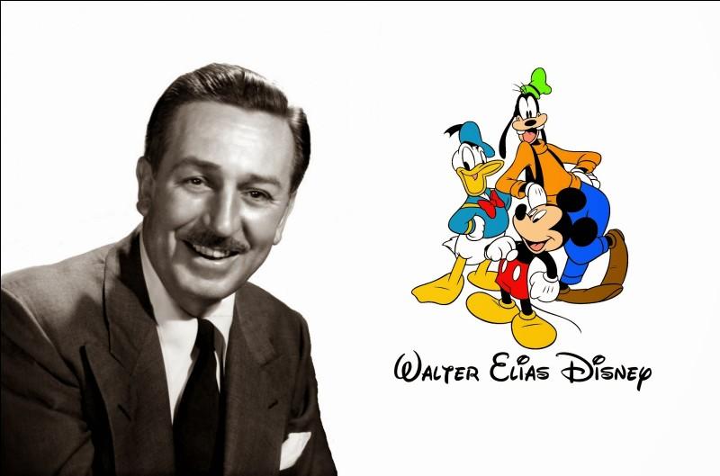 Quand Walt Disney est-il né ?