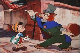 """Dans le dessin animé """"Pinocchio"""" de Walt Disney, quel animal est Grand Coquin ?"""