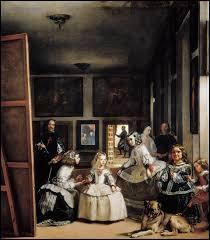 """A quel peintre espagnol doit-on cette toile intitulée """"Les Ménines"""" ?"""