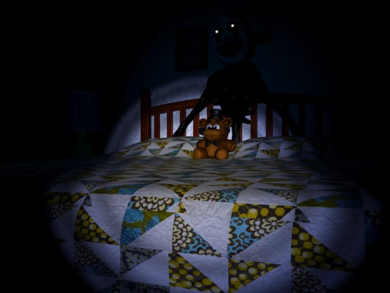 Quel easter egg se passe-t-il quand tu mets plusieurs fois la lumière sur la poupée de ton lit ?