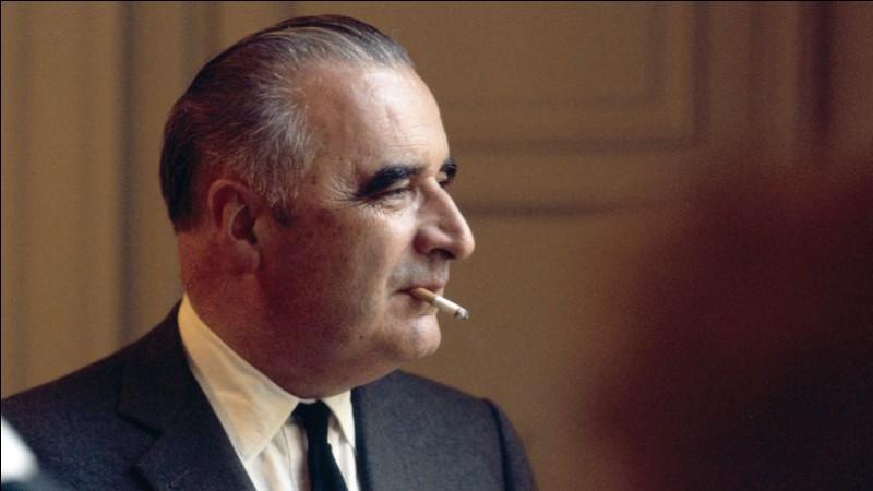 Quel est le positionnement politique de Georges Pompidou ?