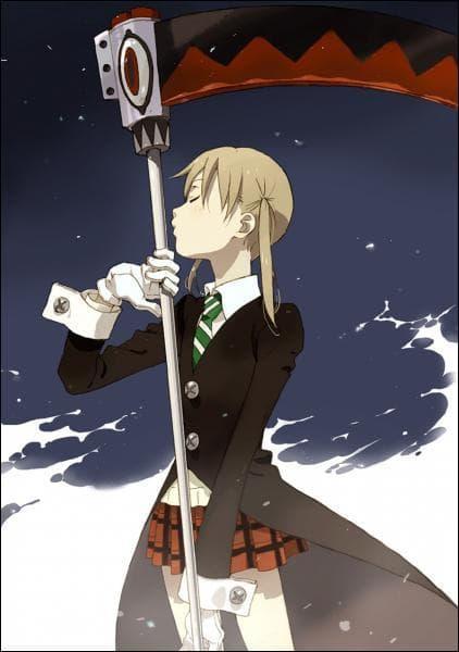 Dans la principale équipe de ce manga, avec qui Maka fait-elle équipe ?