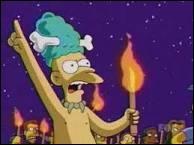 Quelle est l'origine de l'assistant de Krusty se nommant Tahiti Mel ?