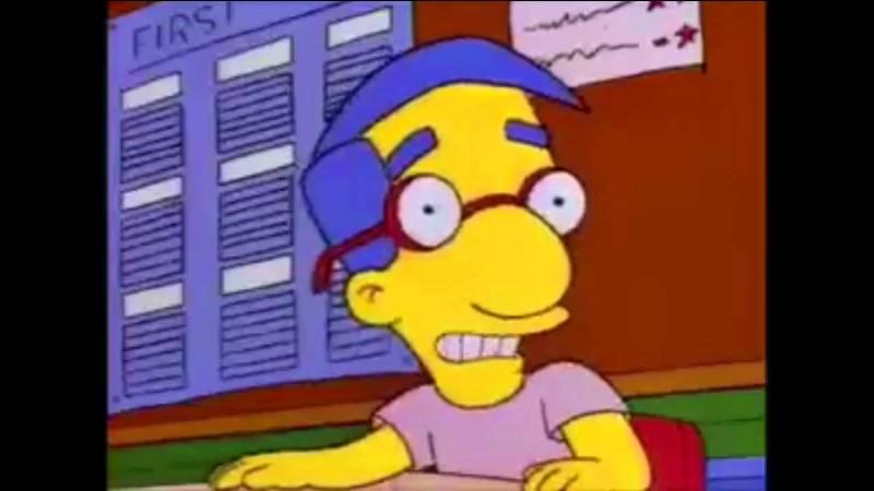 Voici le meilleur ami de Bart Simpson, Milhouse Van Houten. Mais quelle est son autre origine à par son origine italienne ?