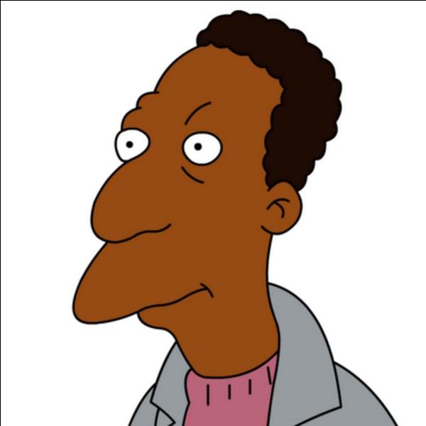 Voici un pote d'Homer, Carl, mais de quelle origine est-il ?