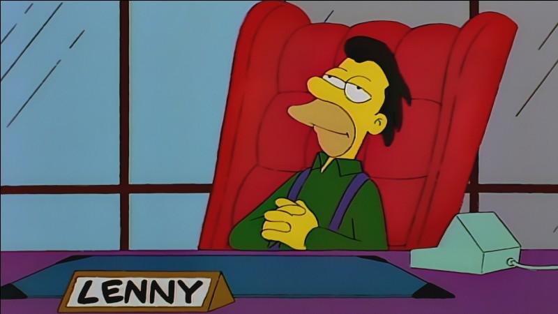 Après Carl, un autre ami d'Homer, Lenny, à votre avis de quelle origine est-il ?