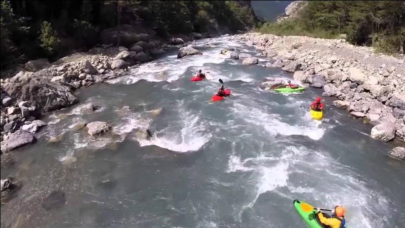UBAYE - Dans quelle région se trouve cette rivière appréciée pour les sports d'eaux-vives ?