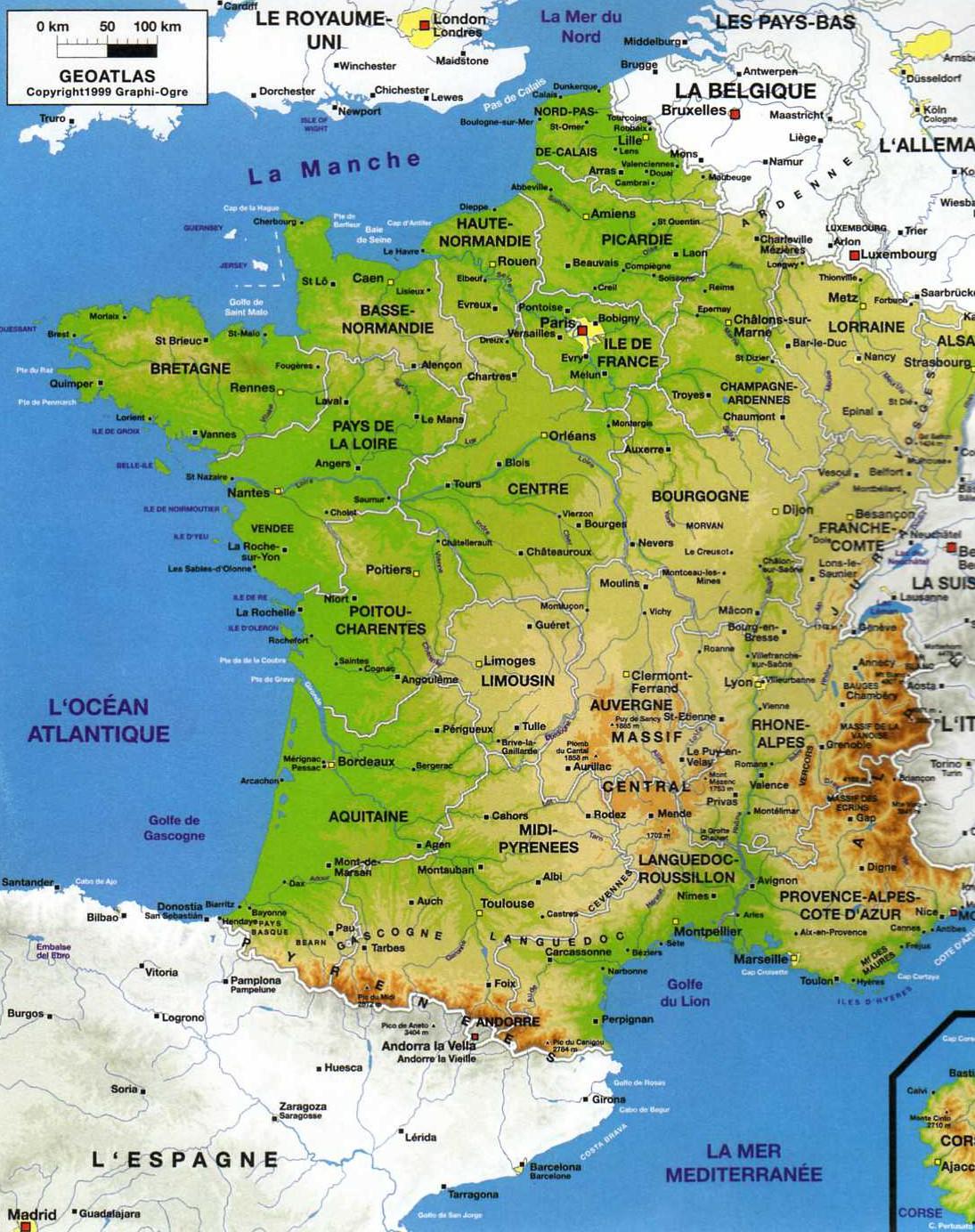 La géographie française de A à Z : les lettres K et U