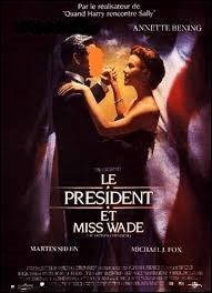 """Si je vous cite """"Le Président et Miss Wade"""", quel acteur américain y joue le président des Etats-Unis ?"""