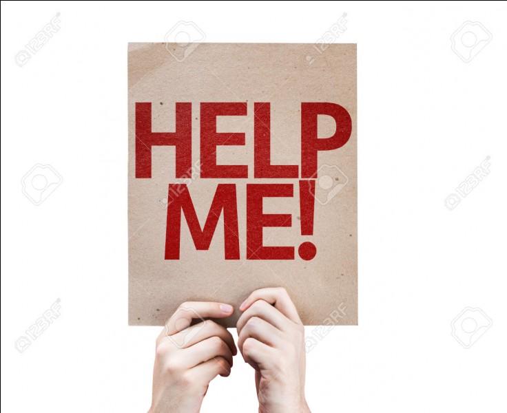 Un ami t'appelle et te demande de l'aide, que fais tu ?
