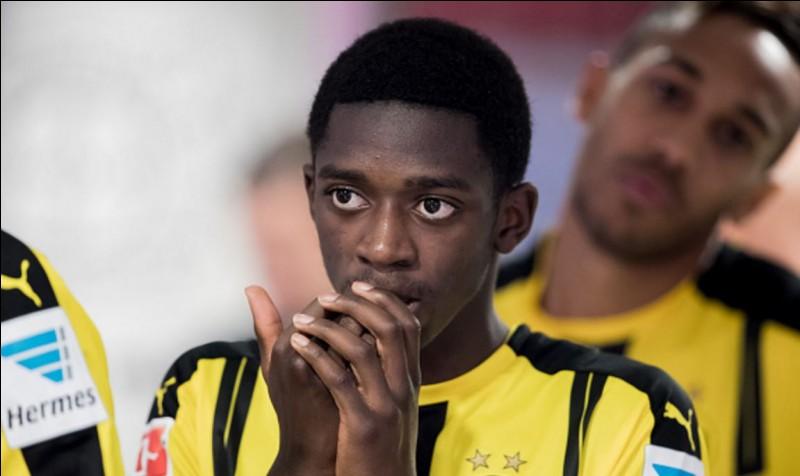 Ousmane Démbélé est :