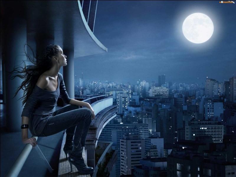 """Qui chantait """"J'ai inventé une chanson au clair de la lune, quelques couplets"""", dans la chanson """"La dame brune"""" ?"""