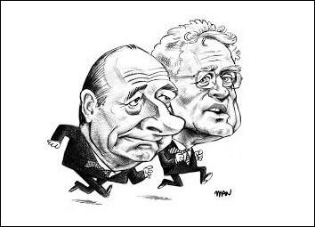 Lors de quelle élection ces deux candidats ont-ils été opposés au deuxième tour ?