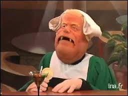 """Par quel animal Jacques Chirac était-il représenté dans l'émission satirique de marionnettes """"Le Bébête Show"""" ?"""