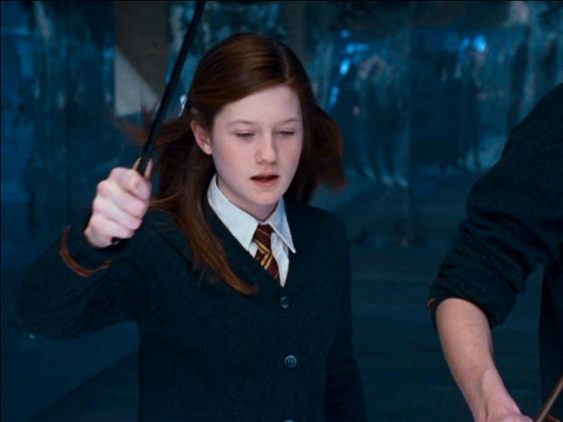 Ginny, pourquoi es-tu si contente ?