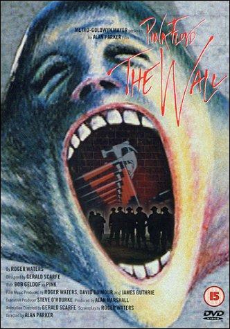 The Wall, un film d'Alan Parker, écrit par Roger Waters, avec Bob Geldof et des animations de Gerald Scarfe, est sortit au début des années ____. Il a connu un grand succès.