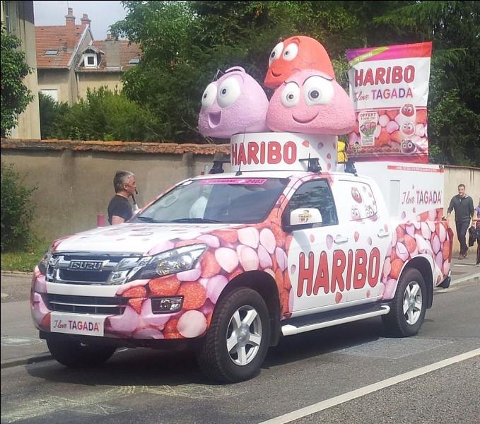 """""""Haribo c'est beau la vie, pour les grands et les petits"""" ! À Uzès, visitez le musée du bonbon Haribo. Dans quel département êtes-vous ?"""
